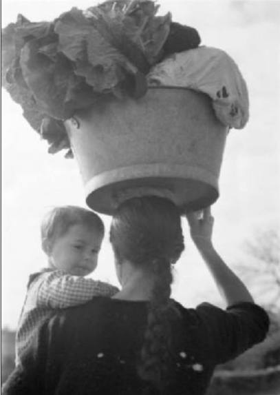 CANGAS DO MORRAZO, 1946. FOTO: FEDERICO PATELLANI