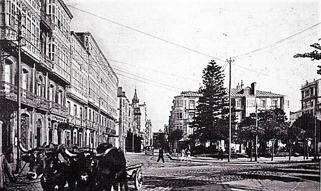 Pza de Ourense (194...) arquivo do concello da coruña (3)