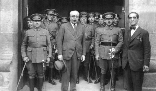 manuel azaña Franco. 1932. cancelo